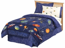 Outer Space Bed In A Bag for Kids
