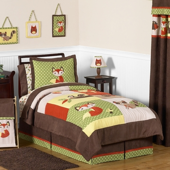 Forest Friends Full/Queen Bedskirt