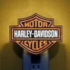 Harley Davidson� Artglass Night Light