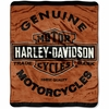 Harley Davidson� Genuine Micro Raschel Throw