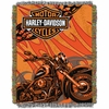 Harley Davidson� Cycle Tapestry Throw