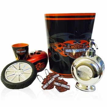 Harley Davidson Bath Accessories