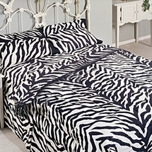 Zebra Print Sheet Sets 200 Thread Count