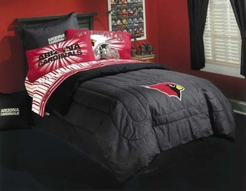 Laurens Linens Arizona Cardinals Nfl Ii Kids Bedding