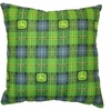 "John Deere Denim 16"" Square Pillow"