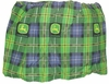 John Deere Denim Twin Bedskirt