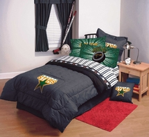 DALLAS STARS NHL Hockey Bedding and Accessories