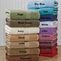 """Growers Collection"" Luxurious  Supima Cotton Bath Towel Ensembles"
