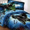 "BATMAN  Twin/Full Comforter ""Forced Darkness"""