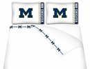 Michigan Wolverines Microfiber Sheet Sets & Extra Pillowcases