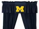 "Sidelines MICHIGAN WOLVERINES 84"" Drapes"