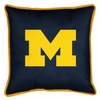 "Sidelines MICHIGAN WOLVERINES 17"" Square Pillow"