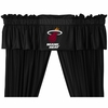 Sidelines Miami Heat Drapes
