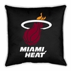 "Sidelines Miami Heat 17"" Square Pillow"
