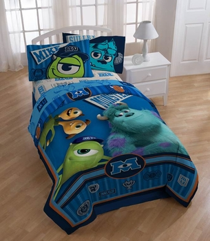 "Monsters University ""Stare"" Twin Bedding by Disney"