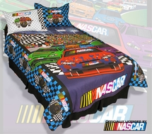 NASCAR Twin/Full Comforter Sets