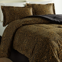 Wild Life Collection Leopard Comforter Set