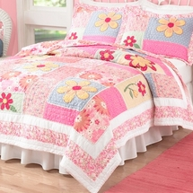 Olivia Pink Quilt Sets & Accessories