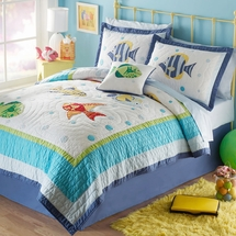 Colorful Sea Quilted Bedding & More!