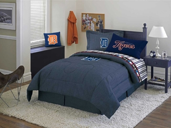 detroit tigers bedding sheets comforter and bed linens for kids or