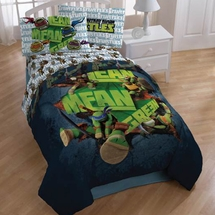 "TMNT ""Green Glow"" Twin Bedding"