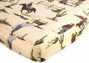 Wild West Crib Sheet
