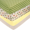 Forest Friends Crib Sheets