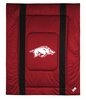 Sidelines ARKANSAS RAZORBACKS Twin Comforter