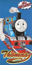 Thomas Aboard Beach Towel
