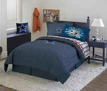 Dallas Cowboys Denim Comforter & Sheet Set Combo