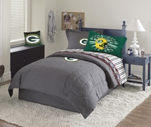 Green Bay Packers Denim Valances, Shams & Accessories