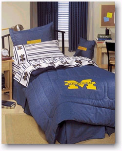 Ncaa Bedding And Accessories University Of Michigan 100