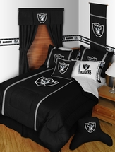 Oakland Raiders MVP Bedding