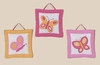 Butterfly Pink & Orange Wall Hangings