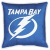 "Sidelines TAMPA BAY LIGHTNING 17"" Square Pillow"