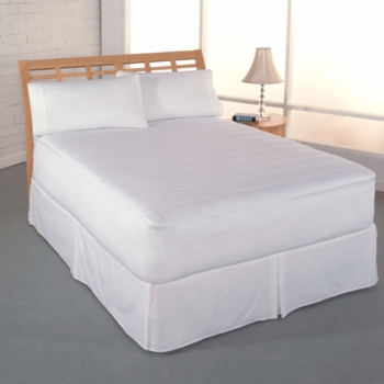 CLEAN and FRESH 400 Thread Count Mattress Pad by PERFECT FIT™