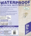 Waterproof Fitted Pad King Size