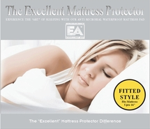 Platinum Cotton Terry Mattress Protector- FITTED