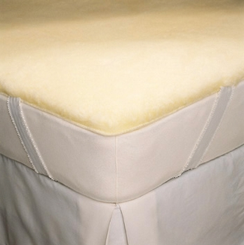 SnugSoft   IMPERIAL Wool Mattress Pad
