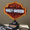 Harley Davidson Neon Table Lamp