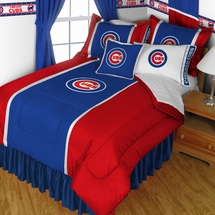 Chicago Cubs Bedding-Sidelines