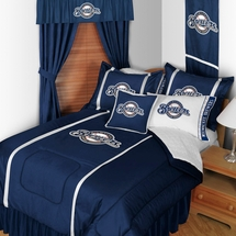 Milwaukee Brewers Sidelines Bedding