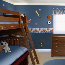 LET'S PLAY BALL Kids Room Decor