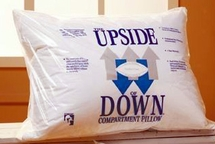 UPSIDE of DOWN ® Compartmented Pillow