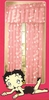 "Betty Boop Pink Kisses 63"" Drapes"