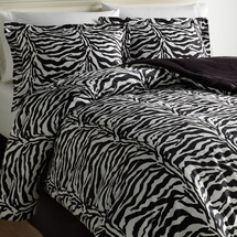 Wild Life Collection 100%  Cotton Animal Print Bedding Ensembles- Sheets, Comforters