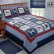 Doggy & Doggy Quilted Bedding & Accessories
