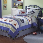 Trucks At Work Quilted Bedding & More!