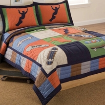 Cool Skate Quilted Bedding & Accessories