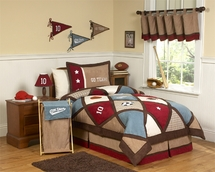 All Star Bedding Ensemble for Kids